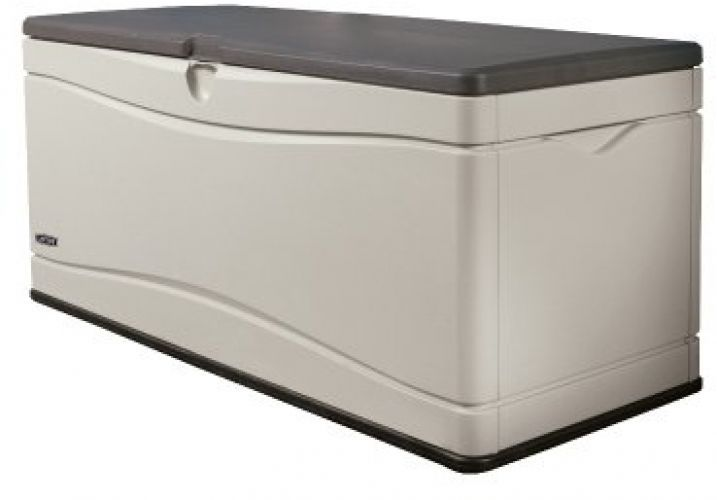 Large Deck Box Patio Garden Storage Outdoor Chest Trunk Pool Plastic Locks Lid Deck Box Storage Extra Large Deck Box Outdoor Deck Box