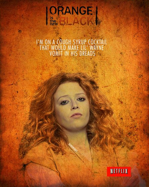 Orange is the New Black ~ ♥ for my first poster series