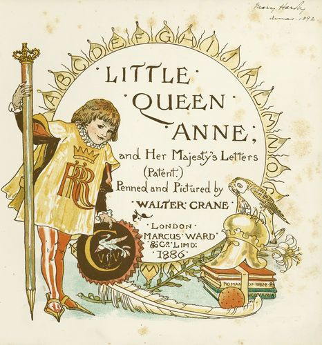 Little Queen Anne- title page