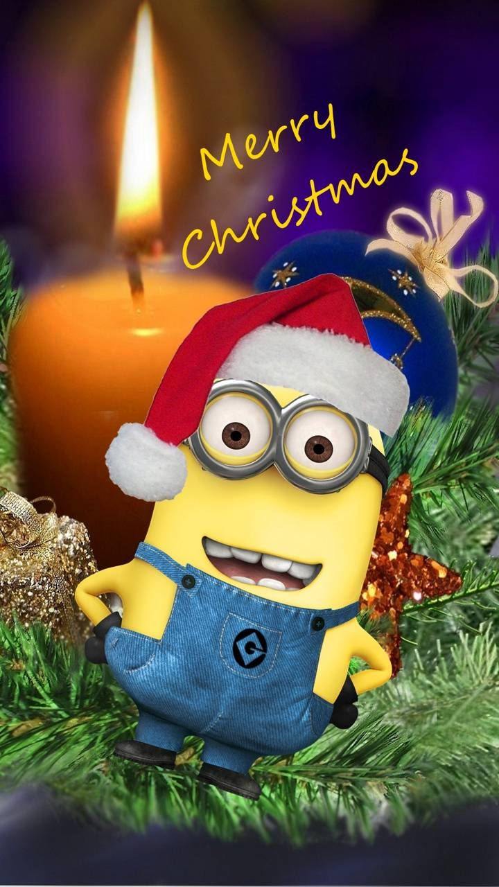 Download Minion Xmas Wallpaper By Mishu De Free On Zedge Now Browse Millions Of Popular Christm In 2020 Minion Christmas Merry Christmas Minions Christmas Jokes