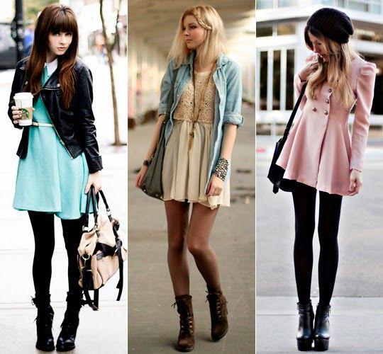 f252a05e9 Veja como usar vestidos do verão no inverno