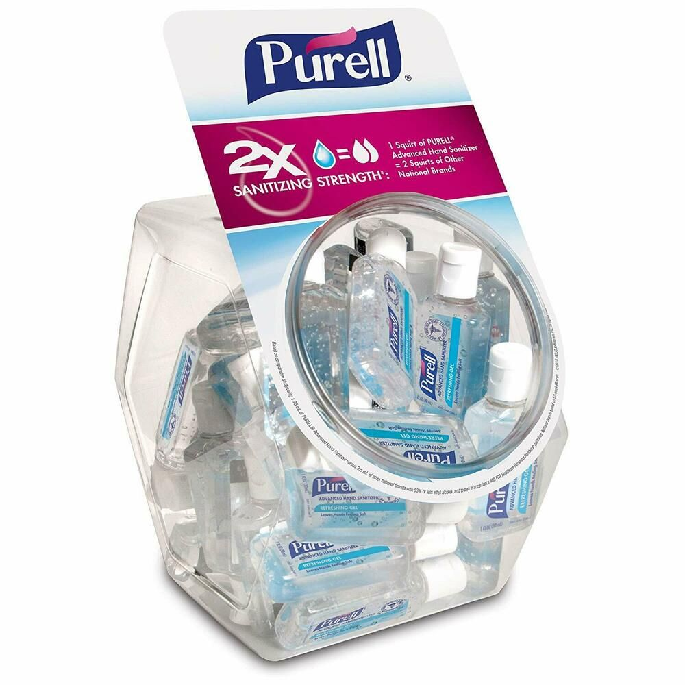 Purell Advanced Hand Sanitizer Refr Travel Size Products Hand