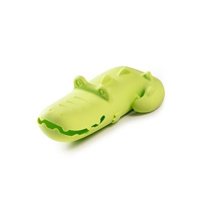 Anatole Cocodrilo Flotante De Lilliputiens En Minikidz Cocodrilo Juguetes Para El Baño Flotante