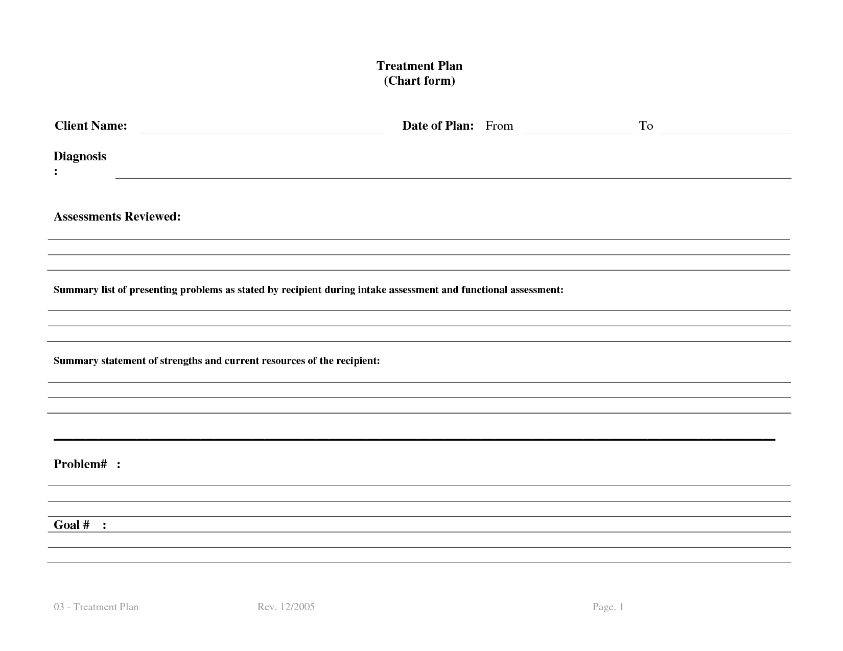 Treatment Plan Template Bm4ucntx
