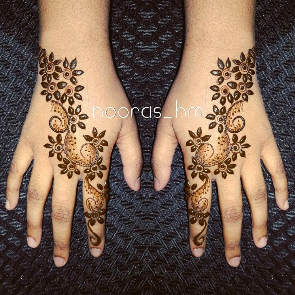 Dubai Henna @nooras_hm #art #hennatattoos #hennaartist #artistic ...