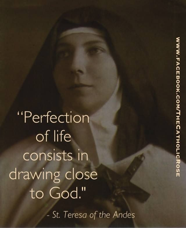St. Teresa Of Los Andes - Feast Day July 13th