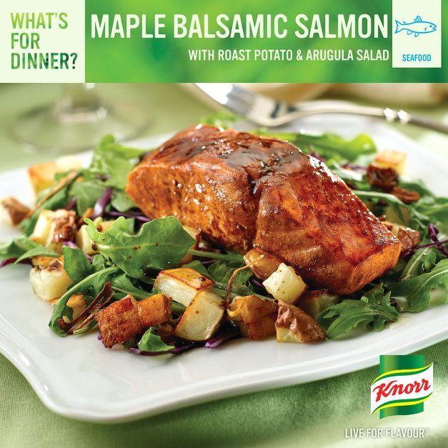 Baked Maple Balsamic Chicken