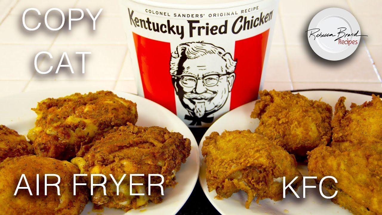 Kentucky Fried Chicken Recipe Omorc Air Fryer No Oil