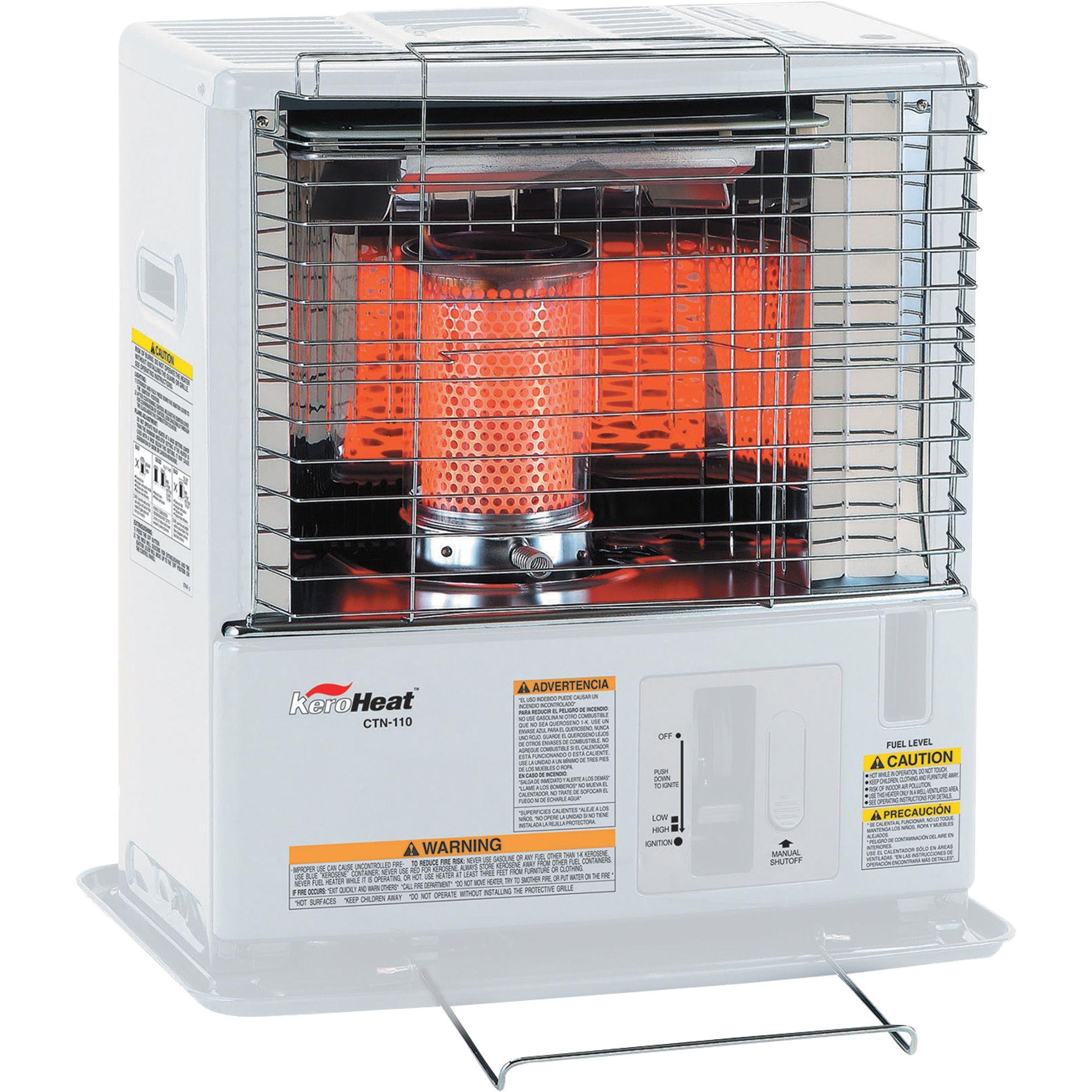 Portable Radiant Kerosene Heater 10 000 Btu Model