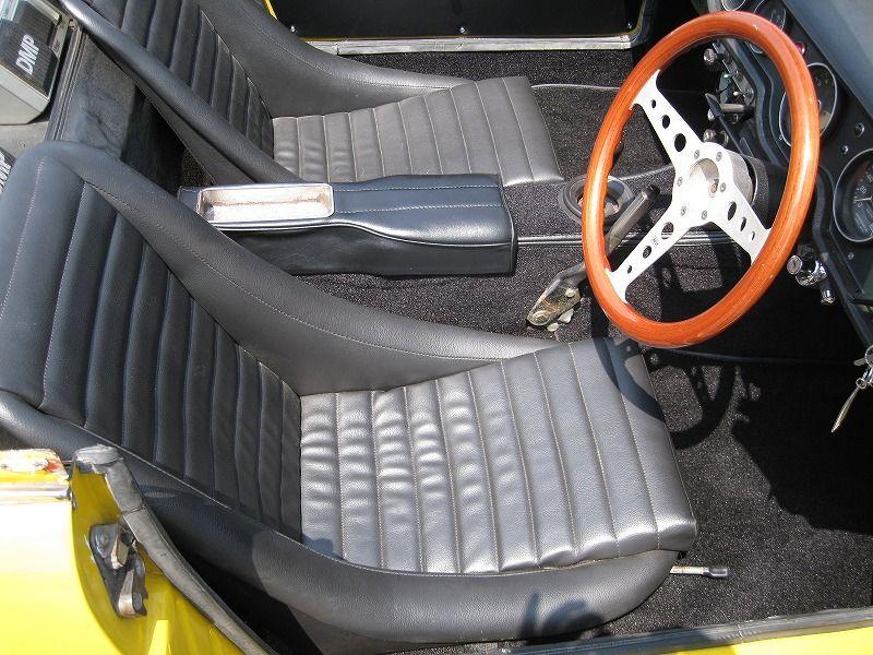 ホンダs800 エスハチ As800 施工事例 実績 旧車 クラシックカーの内装レストア カスタムはフルオーダーで全国対応可能な黒田商会 クラシックカー 旧車 内装