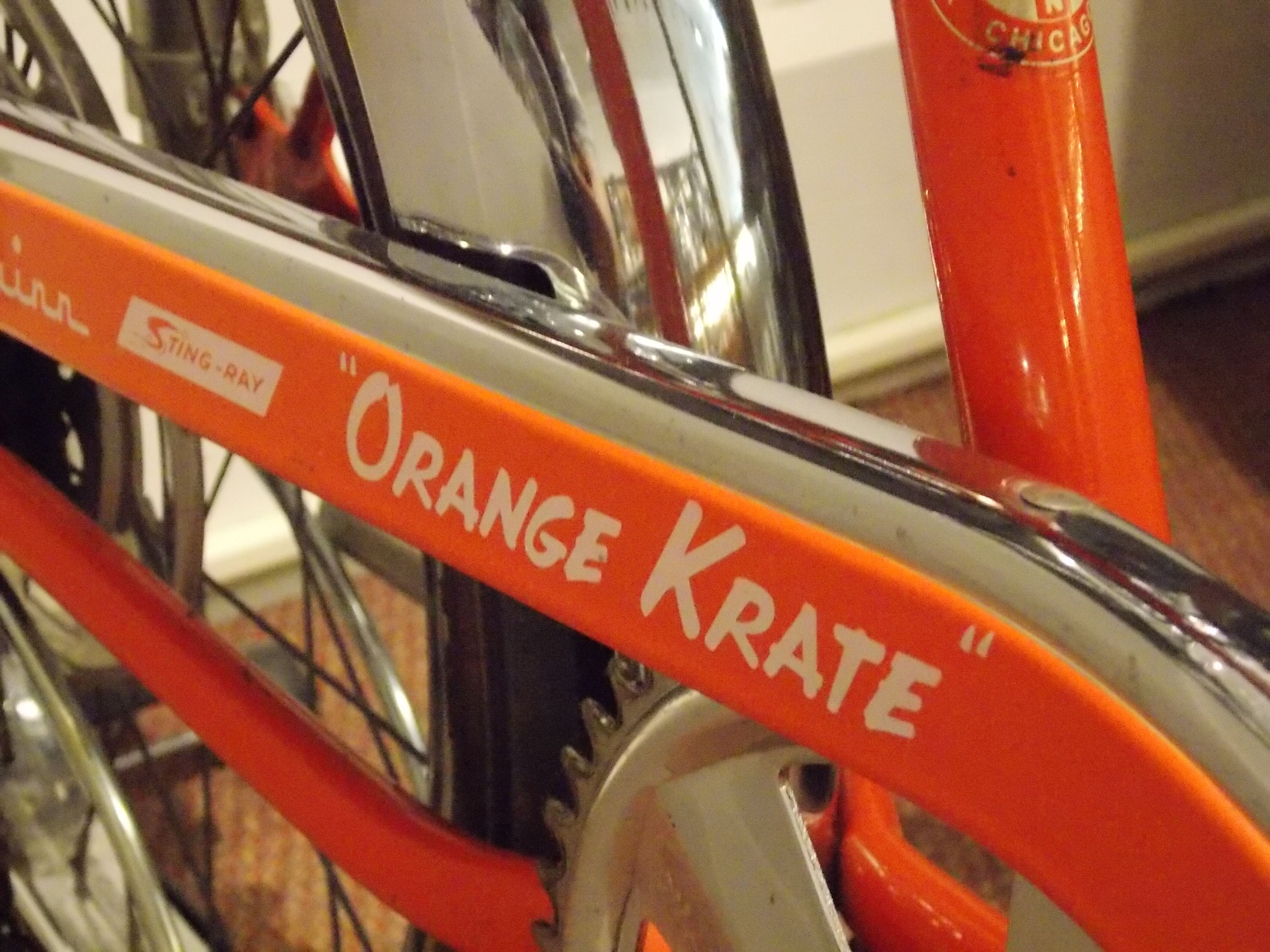 Schwinn Stingray Orange Krate Schwinn Bike Schwinn Schwinn Bicycles