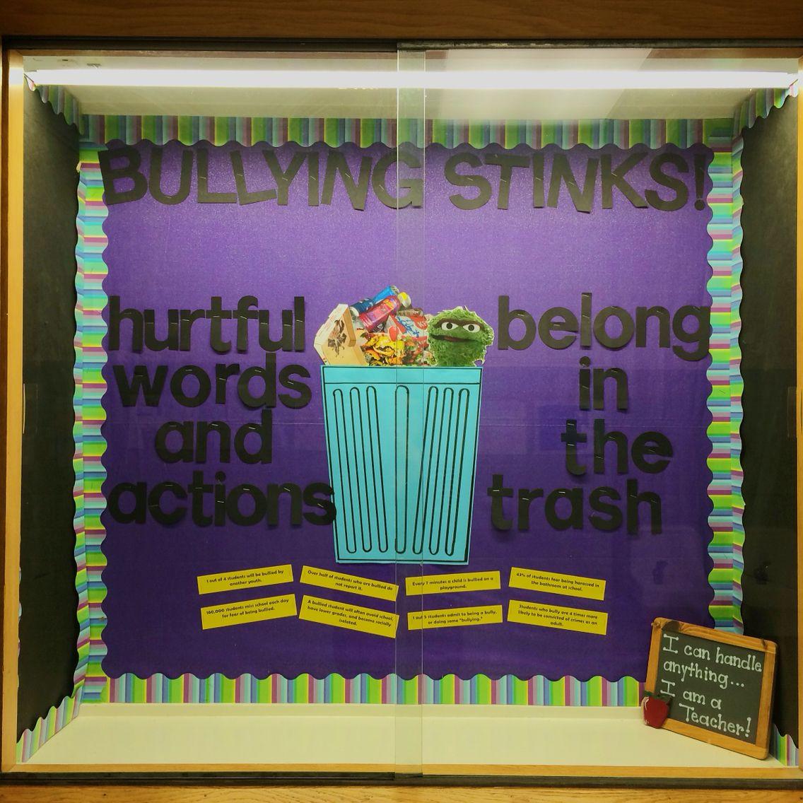 No bullying bulletin board nobullying bullyingstinks