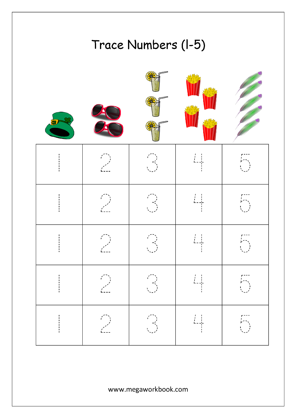 worksheet Tracing Number 5 Worksheets math worksheet number tracing 1 to 5 pinterest check our free printable tracingwriting worksheets teach numbers your child