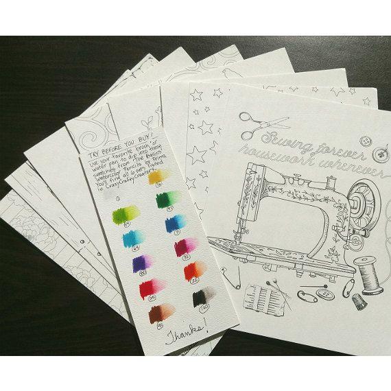 Acuarela para colorear - Set 1 - Prima Marketing - 8 x 10 - libro de ...