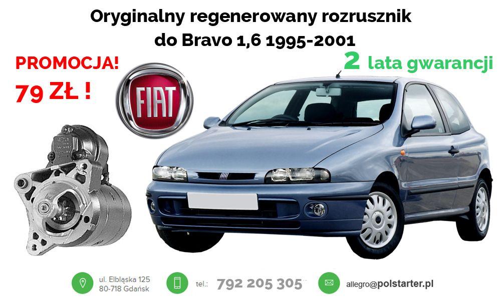 Oryginalny Regenerowany Rozrusznik Do Samochodow Citroen Jumpy 1 6 1995 Fiat Brava 1 6 16v 1995 2001 Bravo 1 6 1995 2001 Marea 1 6 16v 19 Fiat