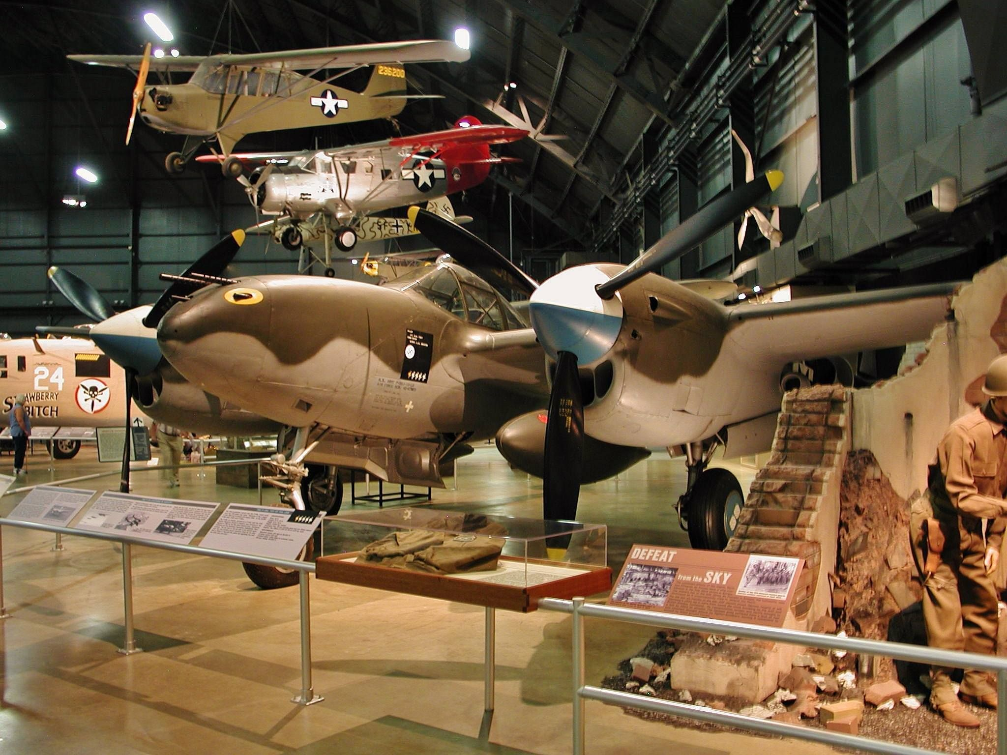 Lockheed P38L Lightning at Air Force Museum in Dayton OH
