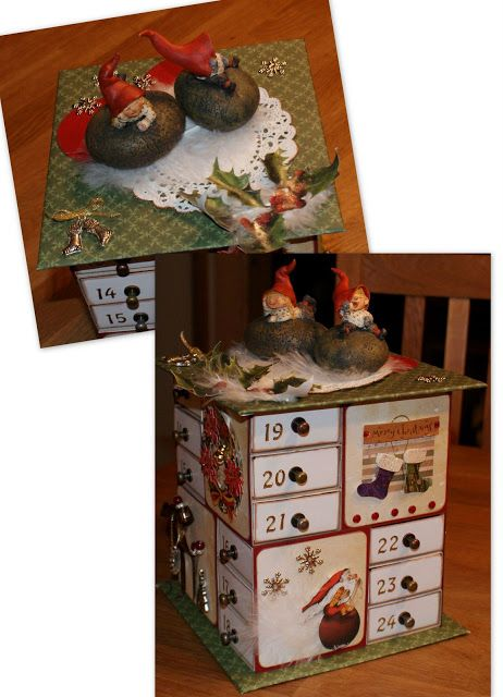 Heidin blogg: Julekalender av fyrstikkesker