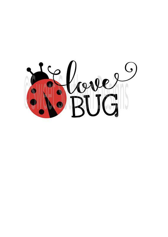 Download Love bug Ladybug SVG DXF PDF instant download design for ...
