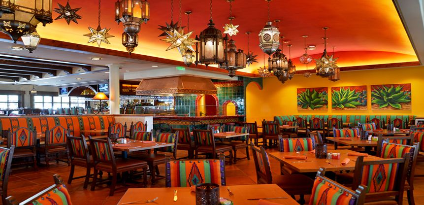 Colorful Mexican Restaurant