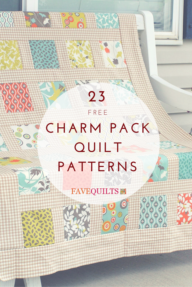 26 Charming Charm Pack Quilt Patterns | Charm pack quilt patterns