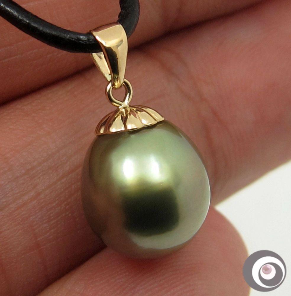 14k White Gold Sparkling Diamond Genuine White Cultured Pearl Dangle Earring TPJ
