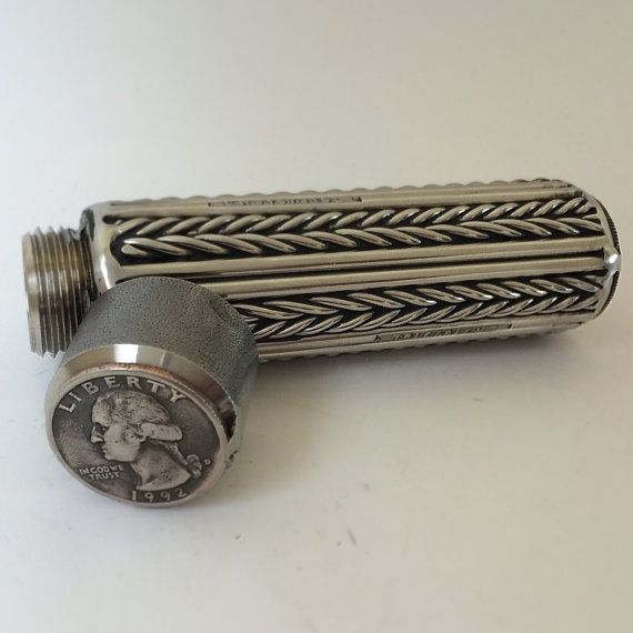 "4"" Tungsten Holder with Clip | handmade metal jewelry ..."