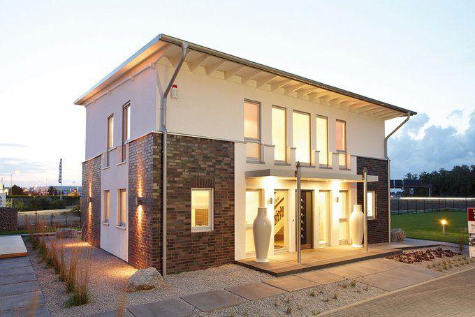 Stadtvilla modern klinker  Plusenergiehaus von GUSSEK - Zu Hause in der Zukunft | Haus ...