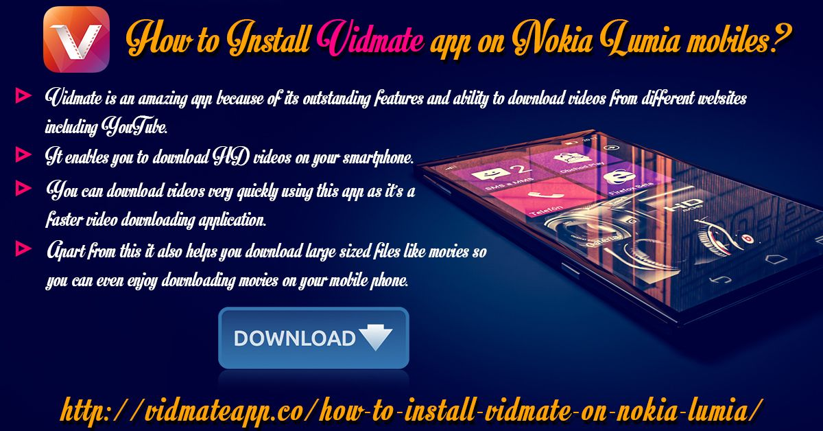 Install vidmate for nokia lumia to download youtube videos vidmate install vidmate for nokia lumia to download youtube videos vidmate is an amazing downloading app which is used to watch as well as download all yo ccuart Image collections
