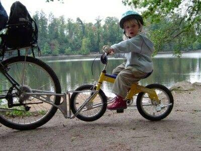Follow Me Child Bike Seat Cargo Bike Childrens Bike