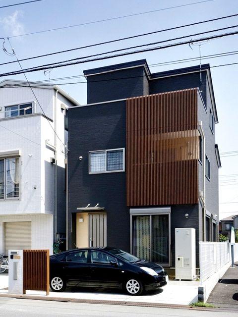 黒 木 外観 三階建て Google 検索 マイホーム 家 外観 家の外壁