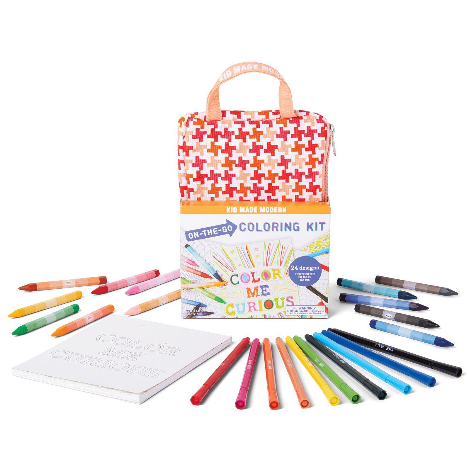 On-The-Go Coloring Kit in 2019   Color, Duvet sets, Kit