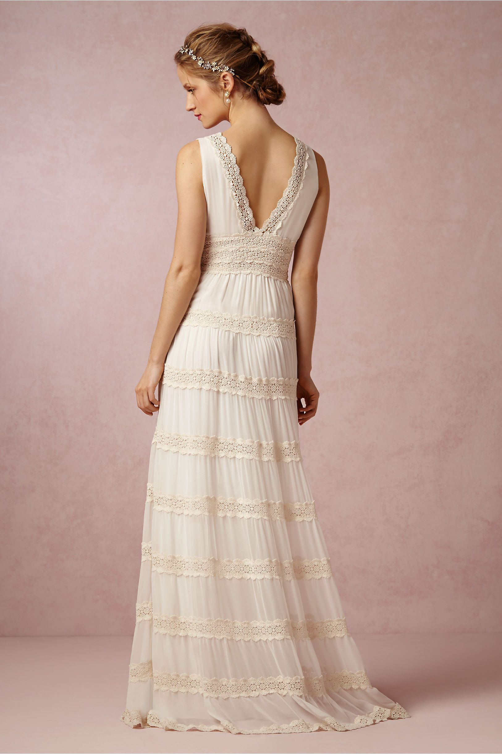 Rosemary Dress By Kite Erfly For Bhldn Bride Reception Dresses Event Lace