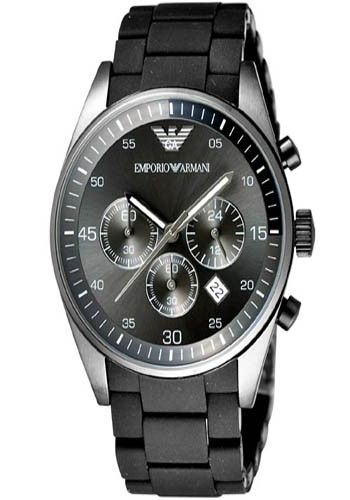 Emporio Armani Herren Armband Chronograph Uhr Ar5889