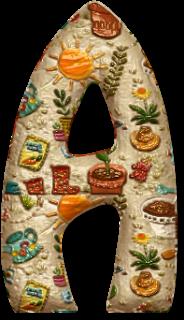 Alfabeto Decorativo: Alfabeto - Decorado - PNG - Maiúsculas e Minúscula...