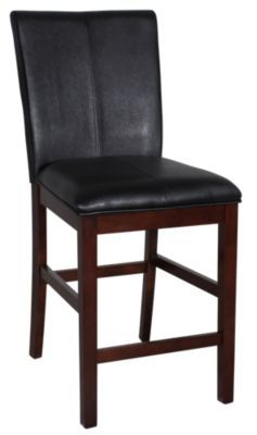 Homemakers Furniture: Black Parsons Stool: A America: Dining: Barstools