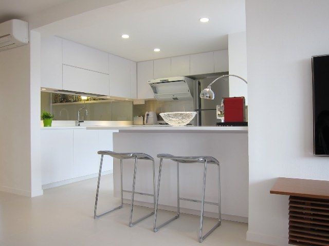 Kitchen Hdb Maisonette Singapore Public Housing Atelier M A Minimalist Featured In Dwell