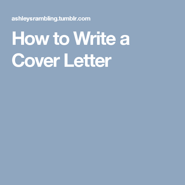 Write A Cover Letter Magnificent How To Write A Cover Letter  Adulting  Pinterest  Cover Letters Inspiration