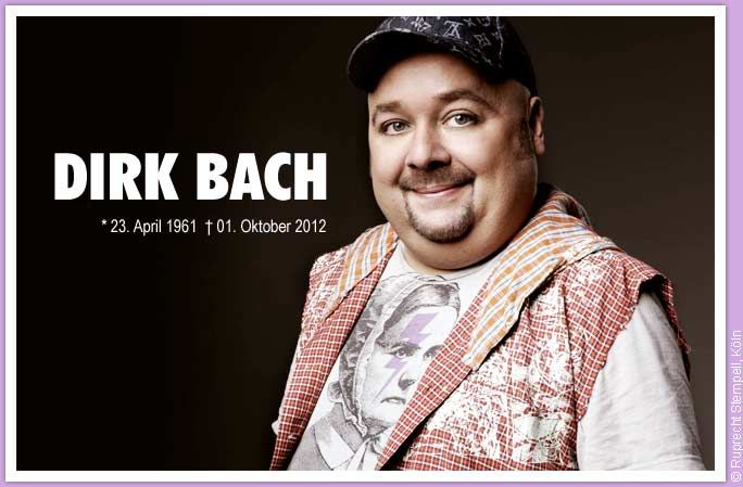 Dirk Bach 1961 2012 Schauspieler Moderator Synchronsprecher Synchronsprecher Schauspieler Legenden