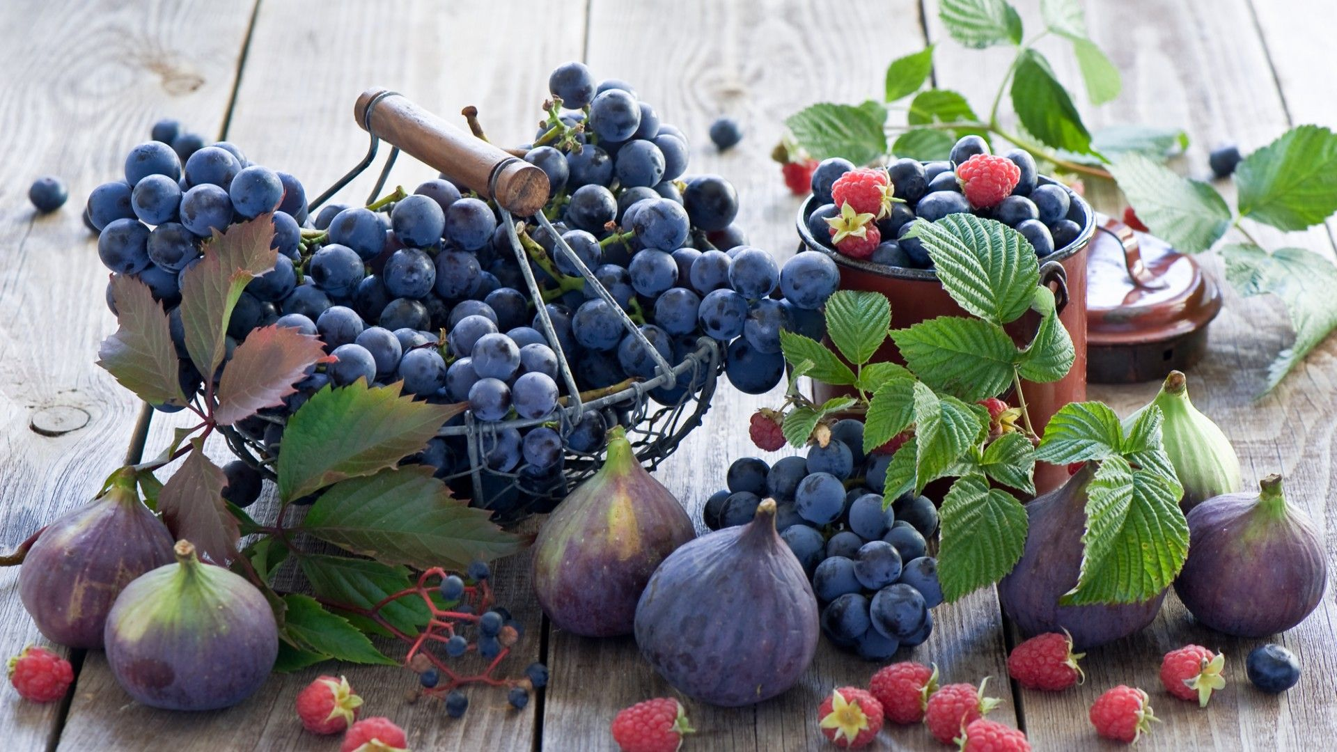 Обои черника, тарелка, малина, фрукты, дыня, ежевика. Еда foto 10