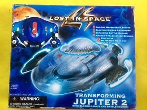 LOST IN SPACE TRANSFORMING JUPITER 2 By Trendmasters (1997)