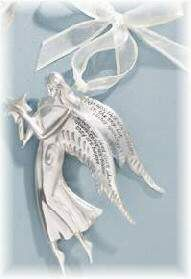 Serenity Angels Loved Ones Ornament Loved Ones Serenity Angels Ornament ''Perhaps they are not stars in the sky, but rather openings where our loved ones shine down to let us know they are happy.