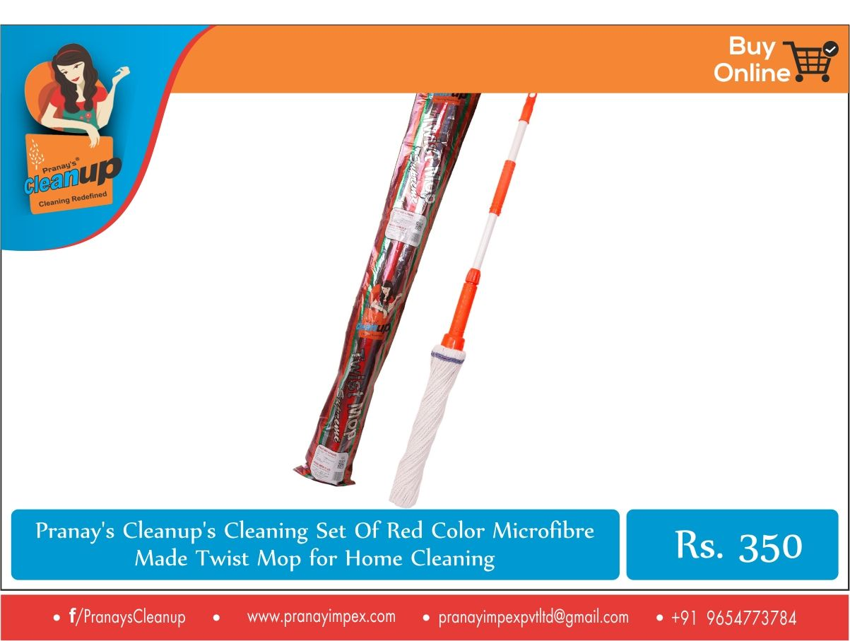 Pranay\'s Cleanup twist mop for #homecleaning. The #microfibre is of ...