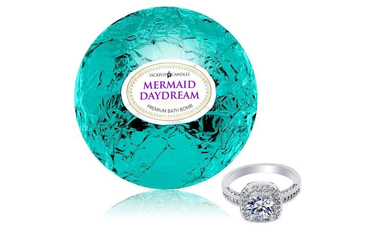 Mermaid Daydream Bath Bomb With Surprise Jewelry Giveaway Enter Here Https Swee Ps Yqipsmqoi Bath Bombs With Rings Mermaid Bath Bombs Bath Bombs