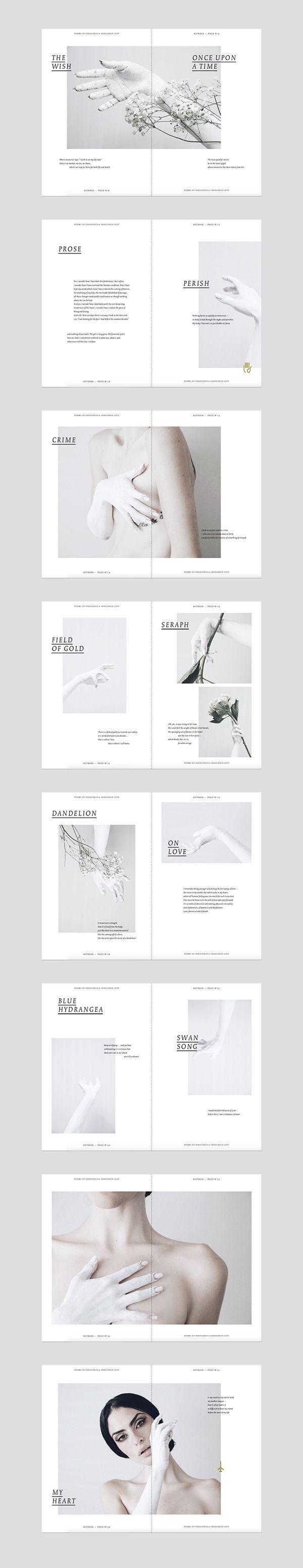 ASTRAEA on Editorial Design Served