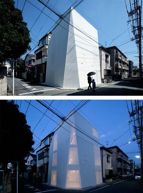 Casper house Tokyo Japan by ALX Architects ARCH MICRO INFILL