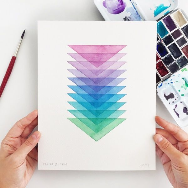 40 Simple Watercolor Paintings Ideas For Beginners To Copy In 2020