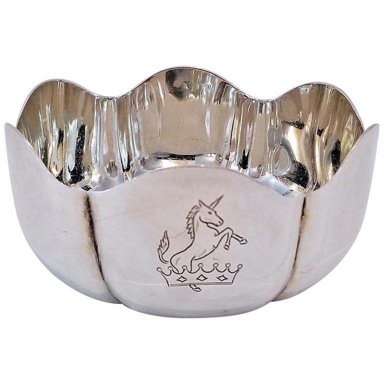Royal Irish Silver Co. Sterling Silver 1966 Bowl 50Th