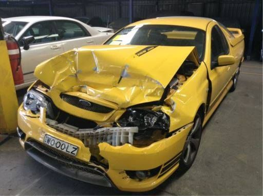 Ford Wrecking 2005 Fpv Bf Super Pursuit Ute For Fpv Ute Parts