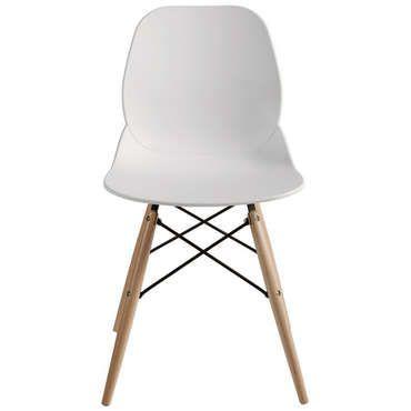 chaise blanche design ide de chaise de cuisine orcas - Chaise Blanche Design