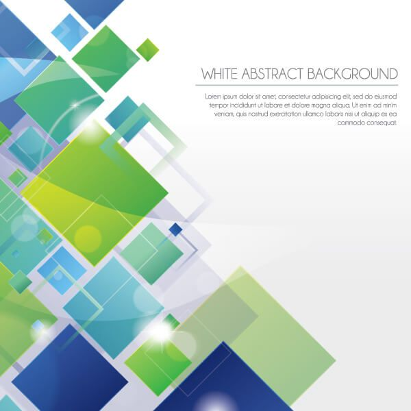 White Abstract Geometric Square Background Design Abstract